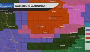 Iowa Warnings