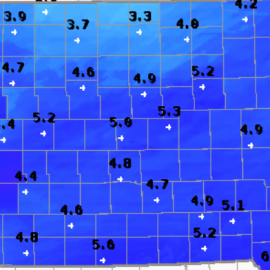 Snowfall Totals From Both Days