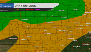 Iowa Severe Weather Convective Outlook Day 1