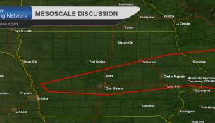 Iowa Mesoscale Discussion 0625