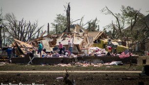 Pilger, NE Tornado Damage