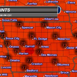 Iowa Dew Points