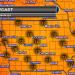 Iowa Tuesday Temperatures