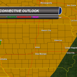 Convective Outlook Tuesday