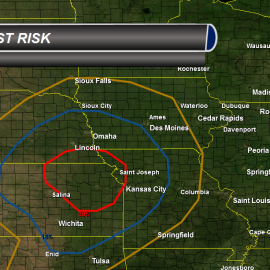 Severe Weather Risk Kansas