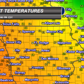 Iowa Current Temperatures