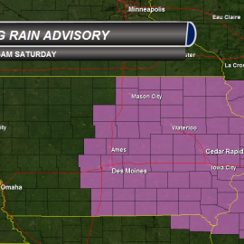 Iowa Freezing Rain Advisory