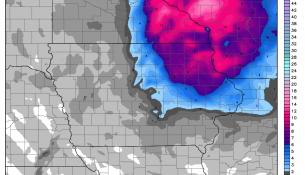 WRF Snowfall Totals