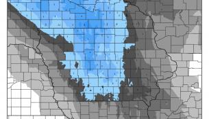 Iowa Snowfall Forecast