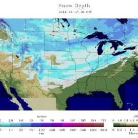National Snow Depth
