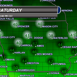 Highs Saturday