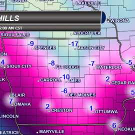 Iowa Wind Chills