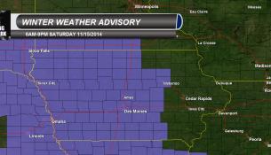 Iowa Winter Weather Advisory