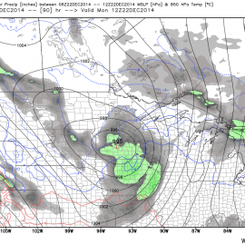 NCEP GFS 6 Hourly Precip