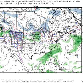 NCEP GFS 6 Hourly Precip QPF 12/22